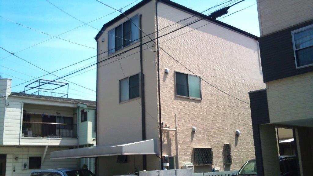 外壁・屋根塗装完工