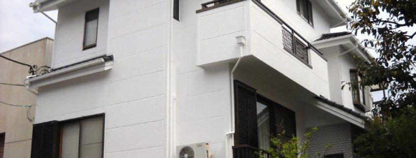 外壁塗装完工