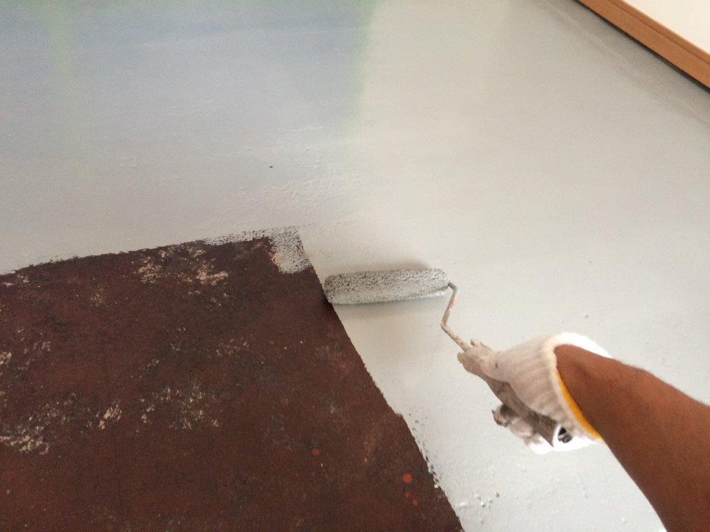 床 上塗り