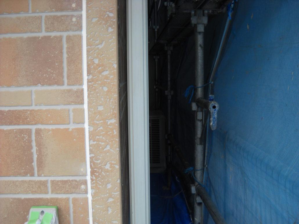 雨樋の下塗り修了