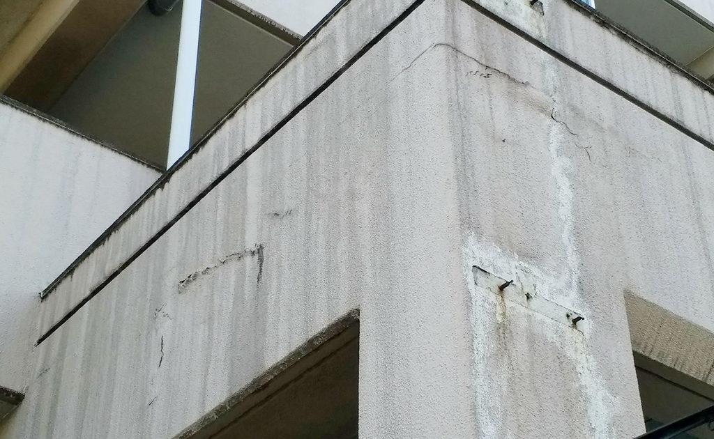 外壁のエフロ