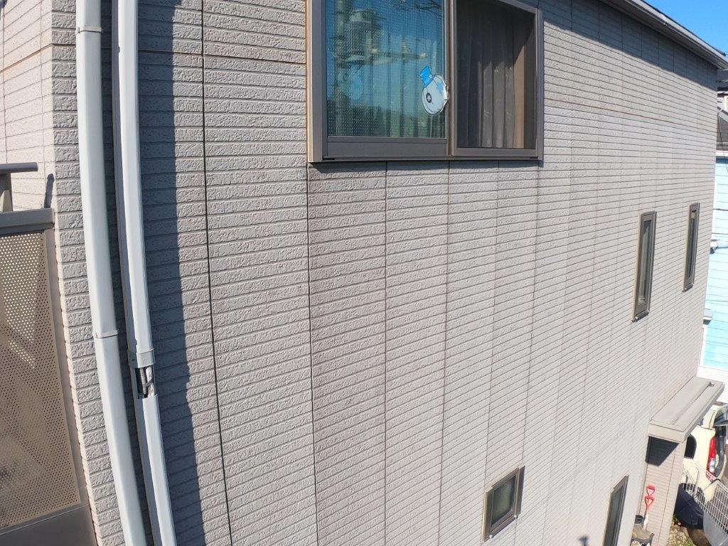 高所の外壁の点検
