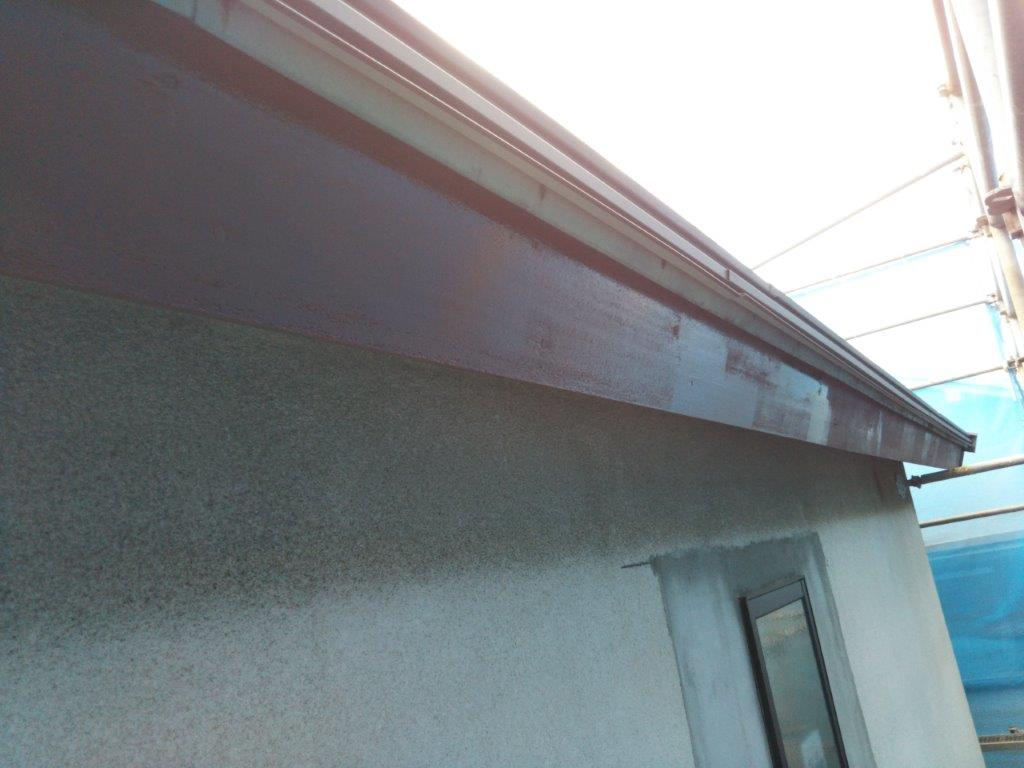 破風板の塗装工事|葛飾区お花茶屋のM様邸にて塗り替えリフォーム