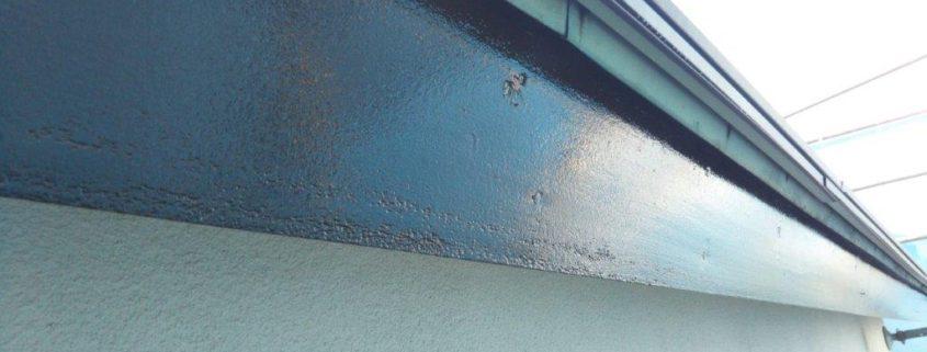 破風板の塗り替え塗装