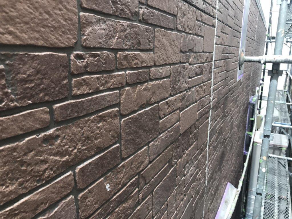 外壁のシーラー塗装 修了