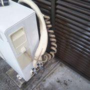 エアコン配管の補修後