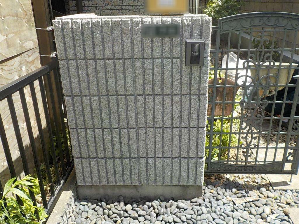塀 塗装 ブロック