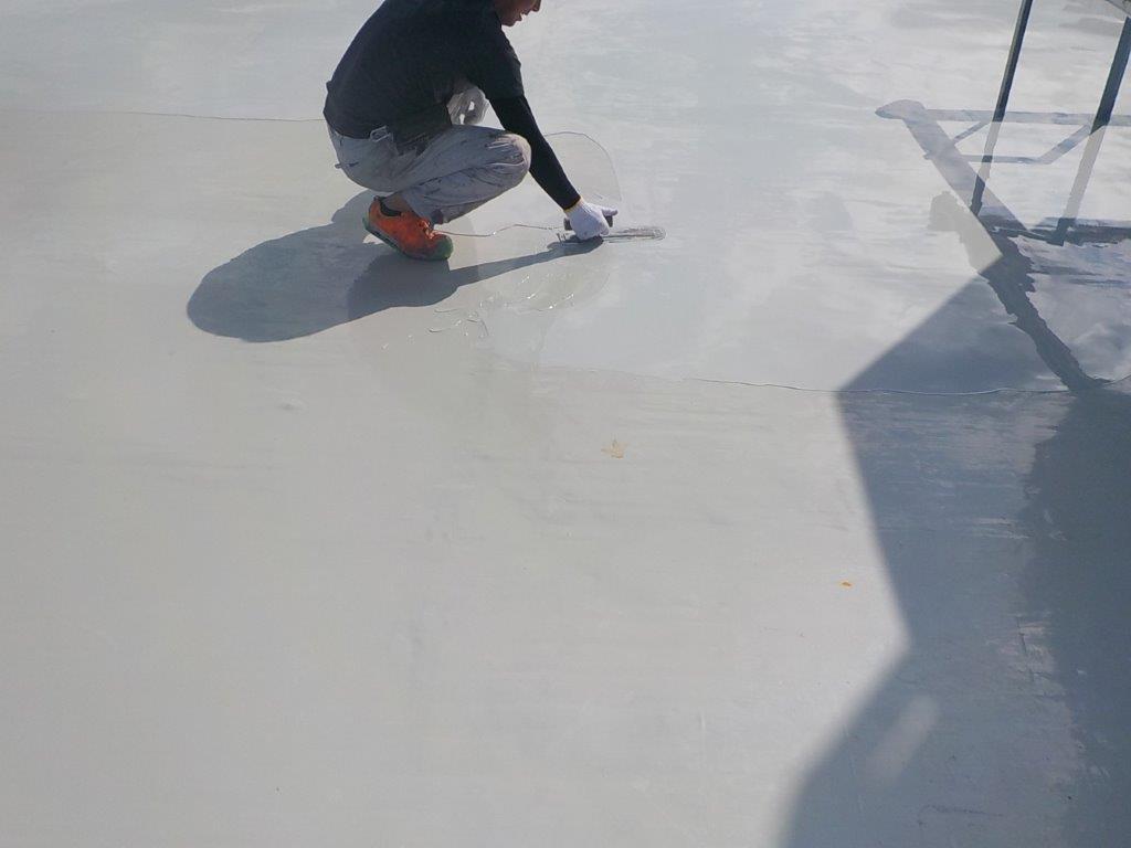 ウレタン2層目の塗装