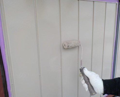 雨戸の上塗り塗装