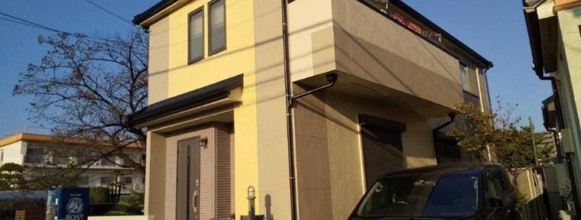 外壁・付帯部の塗装工事前