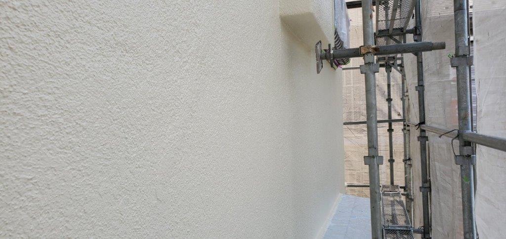 外壁上塗り塗装後