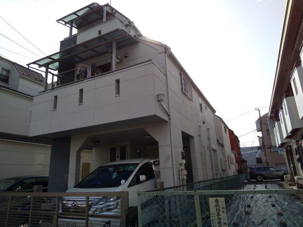 外壁・屋根・付帯部の塗装前
